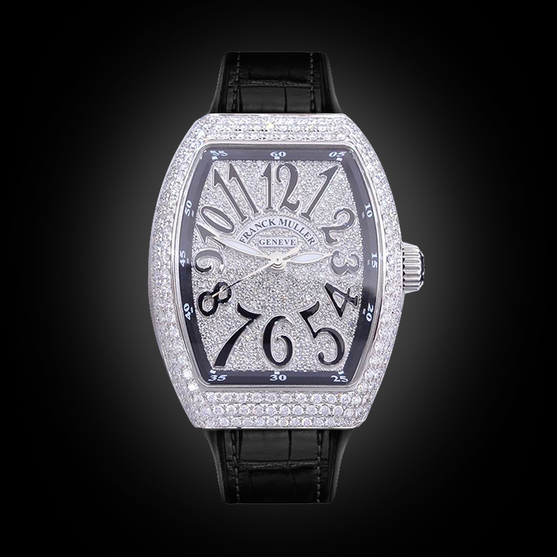 Franck Muller Vanguard Lady V32 Full Diamonds