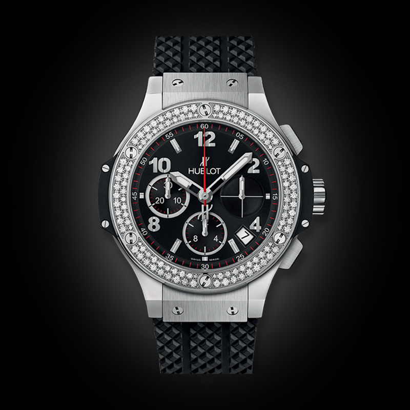 Hublot BigBang 41mm Steel Diamonds