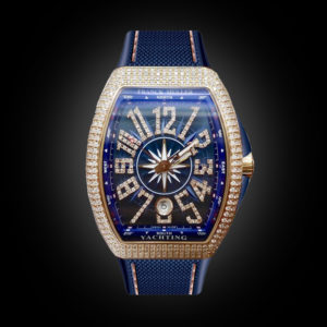Franck Muller V41 Yachting Rose Full Diamonds