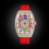 Franck Muller Vanguard Lady V32 Rose Gold Full Diamond Color