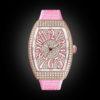 Franck Muller Vanguard Lady V32 Rose Gold Full Diamond Pink