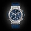 HUBLOT BIG BANG 41MM STEEL BLUE DIAMONDS