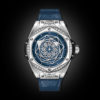 HUBLOT BIG BANG ONE CLICK SANG BLEU STEEL BLUE DIAMONDS 39MM