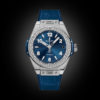Siêu phẩm Hublot Bigbang One Click Steel blue Diamonds 39mm