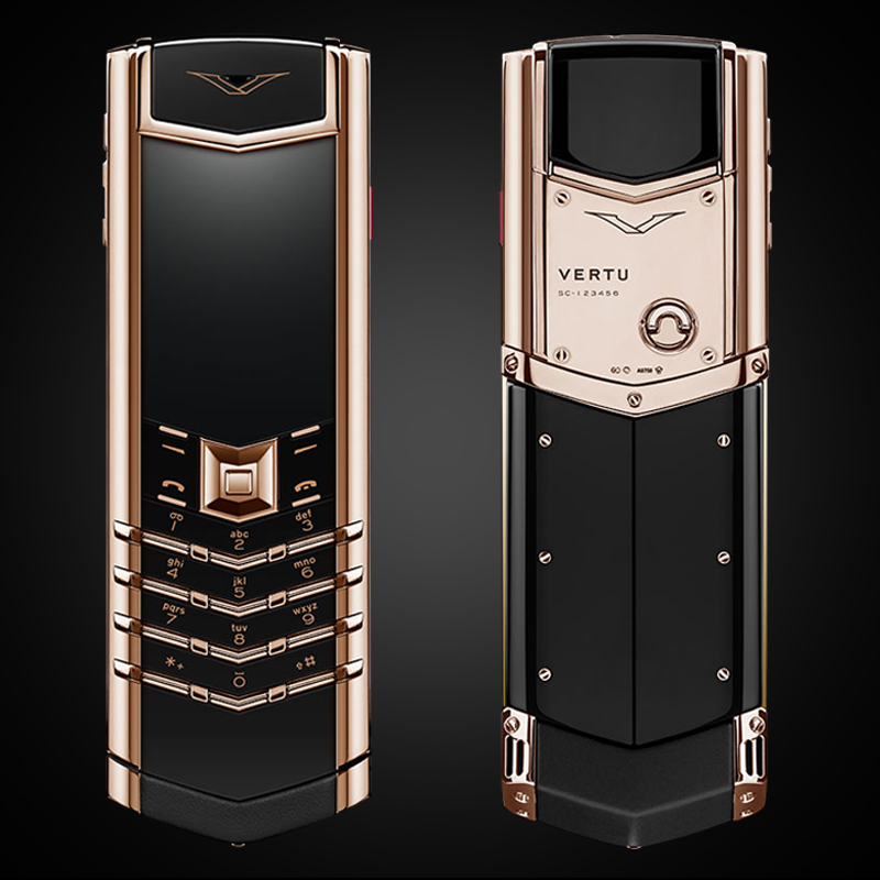 VERTU SIGNATURE S ROSE GOLD