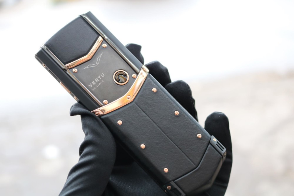 Vertu Signature S Black Mix Rose Gold 2