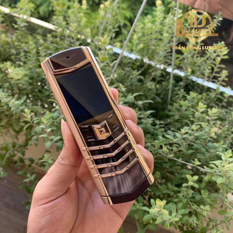 Vertu Signature S Chocolate Rose Gold