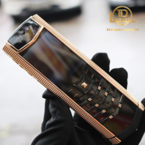 Vertu Signature S Clous De Paris Rose Gold