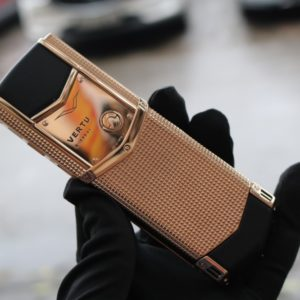 Vertu Signature S Clous De Paris Rose Gold 3