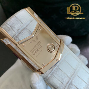 Vertu Signature S Equivalent Diamond Rose Gold Aligator Limited 6