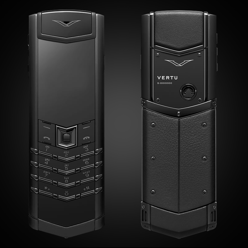 VERTU SIGNATURE S PURE BLACK 2016 MỚI 100%