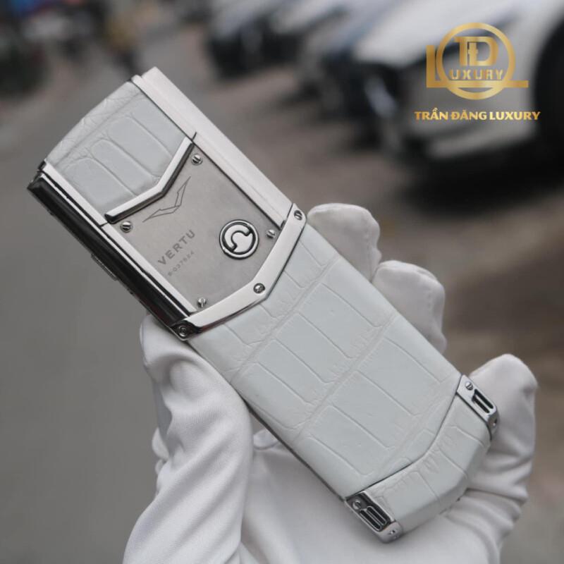 Vertu Signature S Pure White Aligato 2