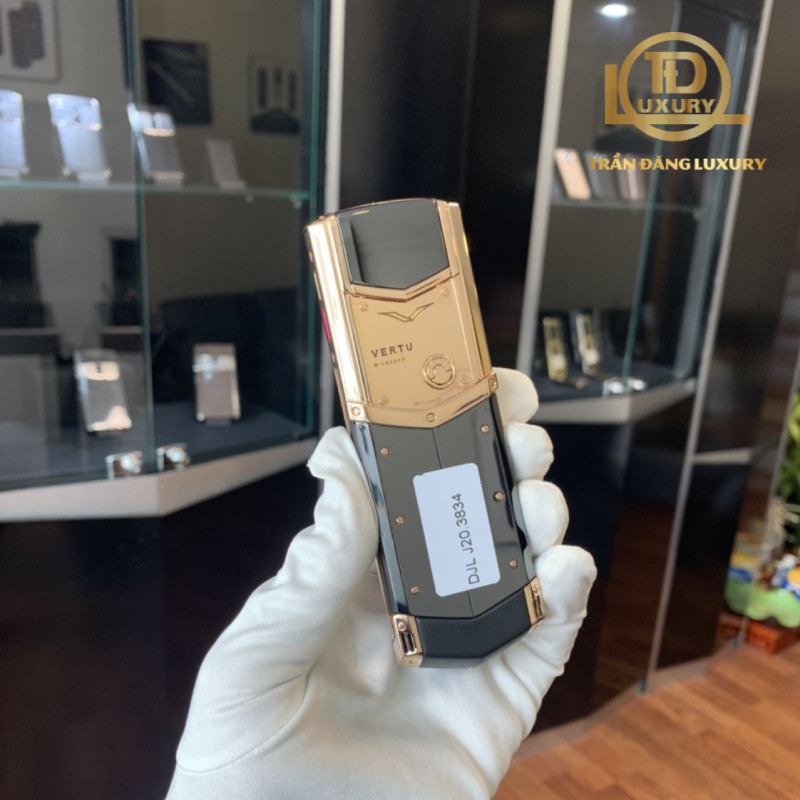 Vertu Signature S Rose Gold Ceramic 2017 2