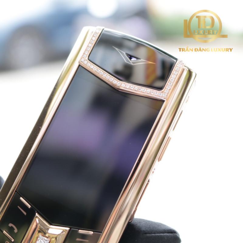 Vertu Signature S Rose Gold Diamond Skin 2 3