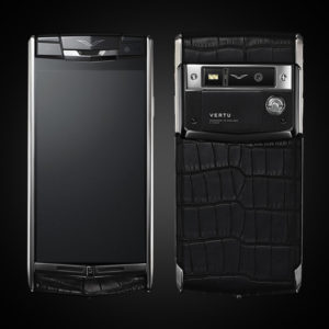 VERTU SIGNATURE TOUCH JET ALLIGATOR 2016 MỚI 100%