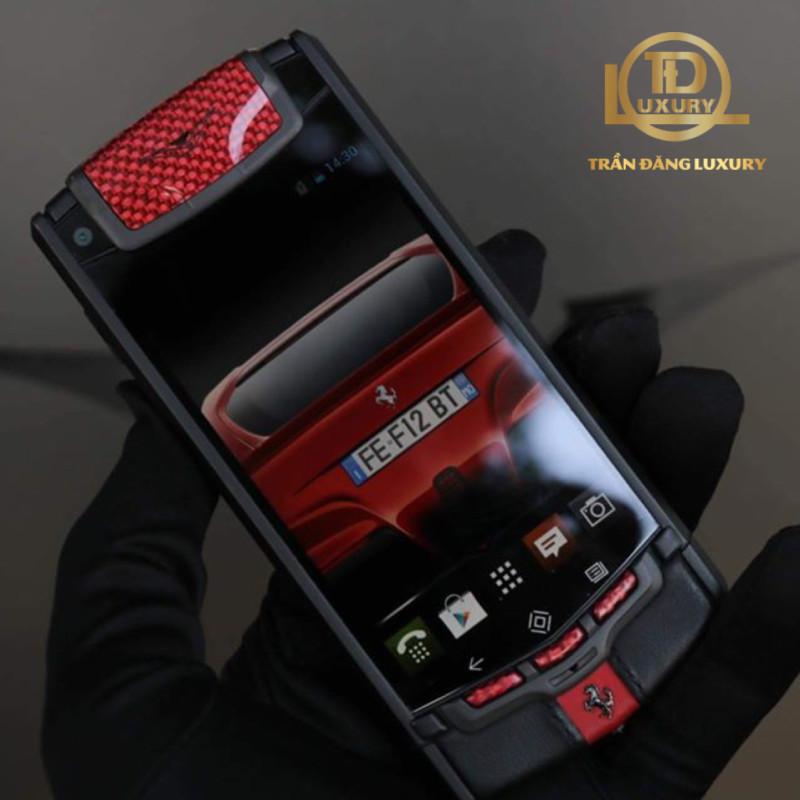 Vertu Touch Ti Red Black 2